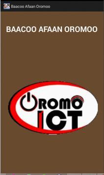 Baacoo Afaan Oromoo poster