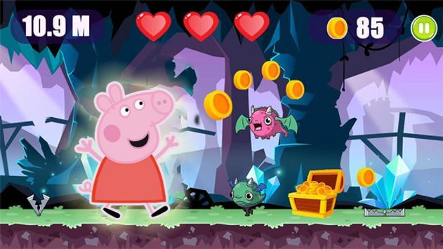 Super Peppa Adventure Pig Jungle Running poster