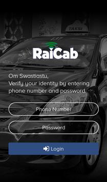 Driver RaiCab poster