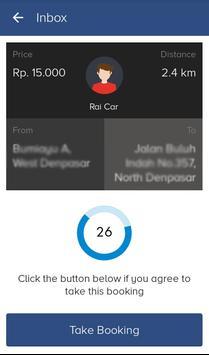 Driver RaiCab screenshot 1