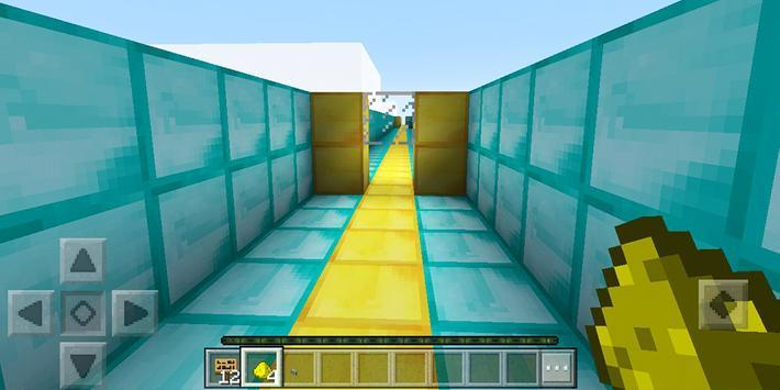 The Dropper. Minecraft PE map screenshot 2