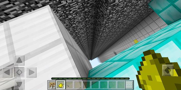 The Dropper. Minecraft PE map screenshot 5