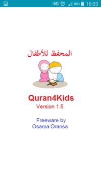 Quran for Kids poster