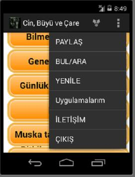 Cin- Büyü ve Çaresi apk screenshot