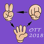 One three three funny 2018 icon