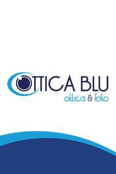 Ottica Blu poster