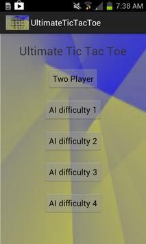 Ultimate Tic Tac Toe screenshot 2