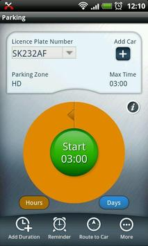 PARX EasyPark Mobile Test screenshot 1