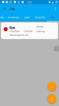 Org Task System screenshot 1