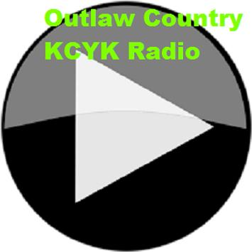 Outlaw Country KCYK Radio poster