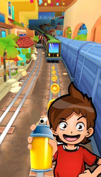 Subway yokai Run Surf screenshot 1