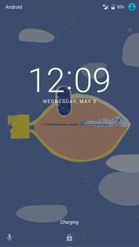 FishPlane Live Wallpaper screenshot 1
