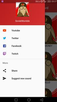 SovietWomble Soundboard screenshot 2