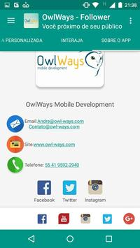 OwlWays Follower screenshot 6