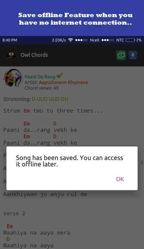 Owl Chords Nepali Song Chords Apk Download Free Entertainment App