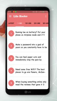 1000+ Life Hacks - Life Tips For Daily Use apk screenshot