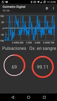Oximetro Digital screenshot 1