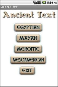 Ancient Text poster