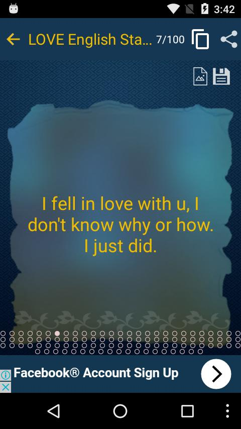 LOVE English Status & Quotes for Android - APK Download