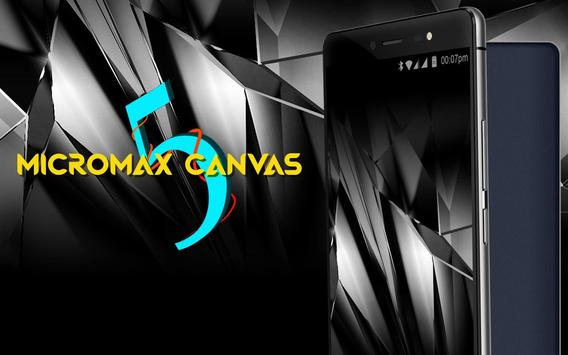 Theme for Micromax Canvas 5 poster