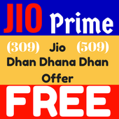 303 Recharge For Jio Prime fre icon
