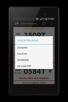 Lotería de México apk screenshot