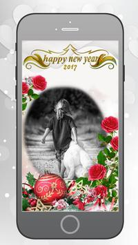 New Year Photo Frames poster