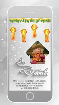 2016 Diwali Frame poster