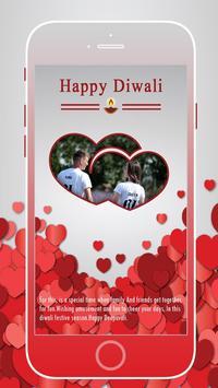 Diwali Photo Frame poster