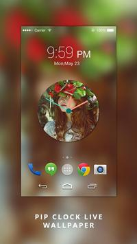 Photo Clock Live wallpaper apk screenshot