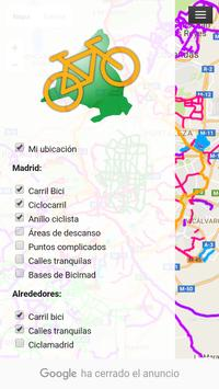 Carril Bici Madrid apk screenshot