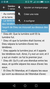 Bible en français Louis Segond - Offline Biblia screenshot 4