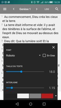 Bible en français Louis Segond - Offline Biblia screenshot 5