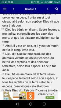 Bible en français Louis Segond - Offline Biblia poster