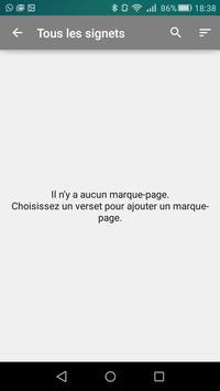 Bible en français Louis Segond - Offline Biblia screenshot 2
