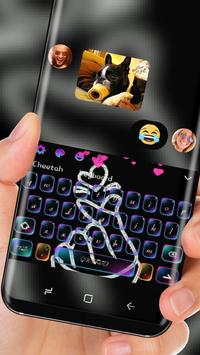 Love You neon Keyboard screenshot 2