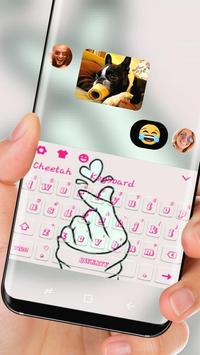 Love You pink Keyboard screenshot 2
