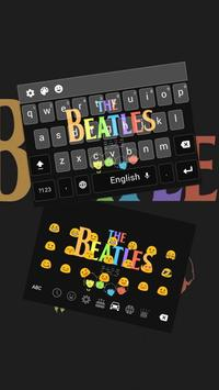 Love Beatles Keyboard Theme poster