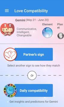 Love Compatibility Zodiac - Free Love Test apk screenshot