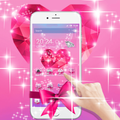 Pink Love Diamond Bowknot
