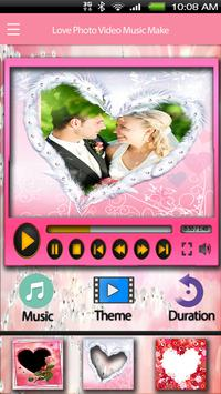 Love Video Maker With Music screenshot 2