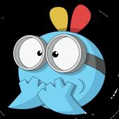 Emoticones divertidos Whatsapp icon