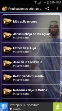 Predicaciones cristianas poster