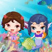 Cute Mermaid Princess Dress up icon