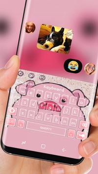 lovely fat pink piggy Theme screenshot 2