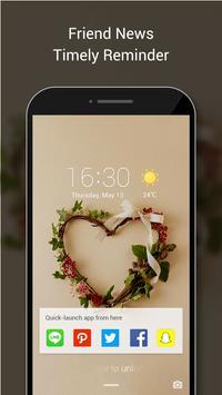 Love Lock Screen&Love pattern lock screen poster