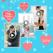 Love Video Maker icon