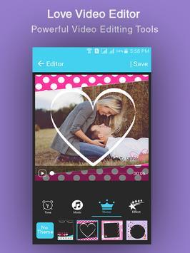 Love Video Maker screenshot 3