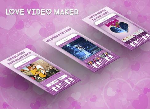 Love Video Maker screenshot 1