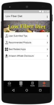 Low Fiber Diet screenshot 3
